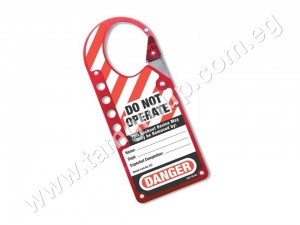 Labeled Lockout Hasp