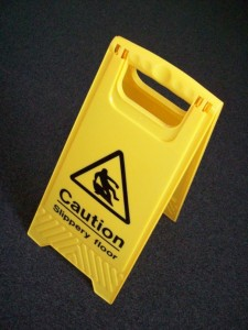 Floor Caution Sign