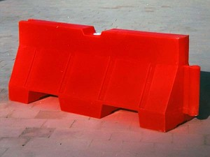 Water Block Road Separator